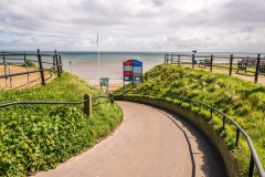 Access to Mundesley Beach