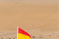 Lifeguards on Mundesley Beach