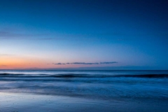 Mundesley Beach and Sea at Sunset