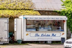 Fresh fish and Shellfish in Butcher's carpark in Mundesley