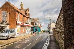View of SPAR shop in Mundesley, Norfolk