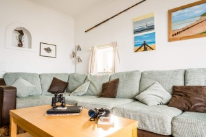 Sitting room at Beach Cottage
