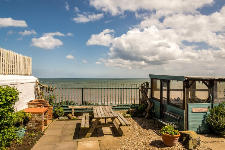 Sea-views-from-Beach-Cottage-Mundesley-Norfolk