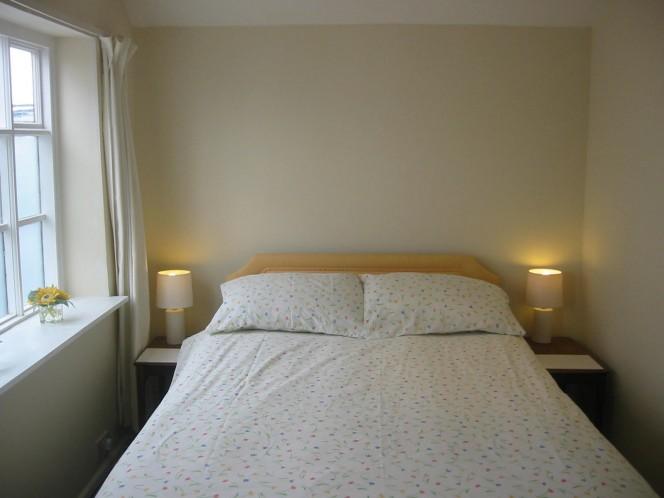 Double en suite bedroom Beach Hut Beach Cottage Mundesley – En Suite Bedroom