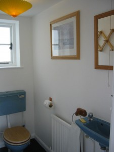 Cloakroom at Beach Cottage