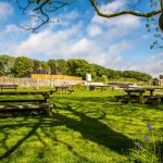 Picnic tables and Outdoor Gym in Mundesley, Norfolk