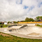 Skate park in Mundesley, Norfolk